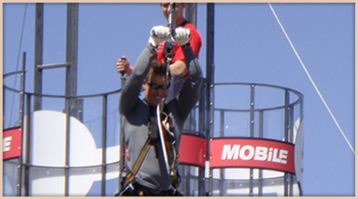 Rent our Mobile Zipline