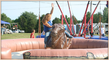 Littler Critters Mechanical Bull