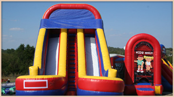 Littler Critters Inflatable Slides